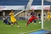Avec un triplé de Sancho, Dortmund tient ses poursuivants à distance