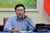 Le Vietnam et le Japon discutent de la lutte contre COVID-19 et de la coopération économique