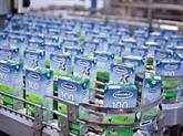Vinamilk : exportations des premiers lots de produits laitiers vers le Moyen-Orient