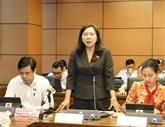 9e session de l'Assemblée nationale : débat de certains projets de loi