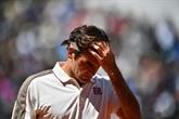 Tennis : Federer réopéré d'un genou, de retour en 2021