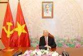 Le leader du PCV s'entretient par téléphone avec le président russe