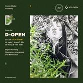 D-Open : concours de dessin numérique pour les jeunes graphistes