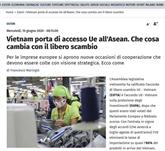 Le Vietnam est une porte d'entrée de l'UE vers l'ASEAN, selon un journal italien