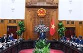 Le PM rencontre une délégation d'entreprises chinoises investissant au Vietnam