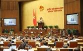 Des lois et résolutions seront adoptées lors de la dernière semaine de travail