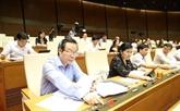 Vote des Lois sur la jeunesse et la conciliation et le dialogue au tribunal