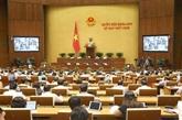 Les députés approuvent plusieurs résolutions