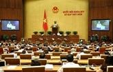 9e session de l'AN : adoption de nombreuses résolutions et loi