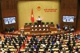 L'Assemblée nationale a adopté 10 lois et 21 résolutions