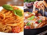 La gastronomie italienne à l'honneur