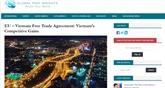 Global Risk Insights : les accords avec l'UE vont profiter à l'économie vietnamienne