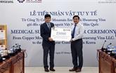 Don à la diaspora vietnamienne en République de Corée