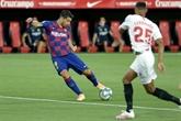 Le Barça accroché à Séville, Setién déjà contesté