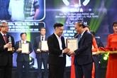 La cérémonie de remise des prix de la presse nationale 2019