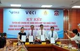 Déclaration sur la coopération pour soutenir les travailleurs et les entreprises du textile
