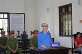 Un homme condamné à Hoa Binh pour propagande contre l'État