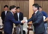 Hanoï et la JICA renforcent la coopération pour assurer l'avancement des projets