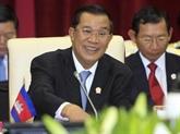 Le Premier ministre cambodgien assistera au 36e Sommet de l'ASEAN