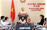 Vietnam - Suisse : promouvoir les accords sur le travail et les affaires sociales