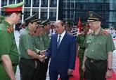 Le Premier ministre apprécie les réalisations des forces de la Police