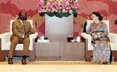 La présidente de l'AN reçoit le directeur national de la BM au Vietnam