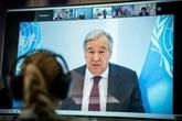 Le chef de l'ONU appelle à