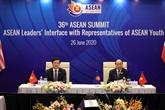 Les dirigeants de l'ASEAN dialoguent avec les jeunes de l'ASEAN