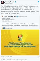 Les États-Unis apprécient la déclaration du 36e Sommet de l'ASEAN