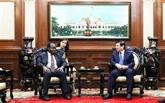 Hô Chi Minh-Ville prête à renforcer ses relations avec l'Angola et l'Arménie