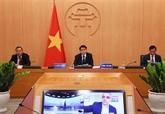 Hanoï partage son expérience sur le combat contre le COVID-19 avec des maires du monde