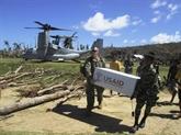Les Philippines suspendent leur sortie d'un traité militaire avec les États-Unis