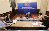 COVID-19 : réunion spéciale en ligne ASEAN - Australie