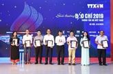 Les lauréats des prix de presse de la VNA à l'honneur