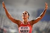 Dopage : la Bahreïnie Naser, championne du monde du 400 m, suspendue provisoirement