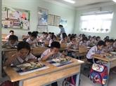 Vigilance maximale dans les écoles