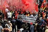 Manifestation pour sauver l'usine Renault de Choisy