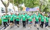 Une promenade à Hanoï appelle à la protection de l'environnement