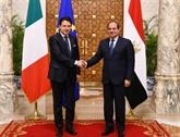 Le président égyptien et le PM italien discutent par téléphone de la Libye