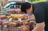 Le litchi vietnamien présent dans la chaîne de supermarchés FairPrice de Singapour