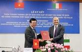 Commission mixte de coopération économique Vietnam - Italie