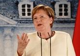 Merkel veut laisser une trace avec la présidence de l'UE