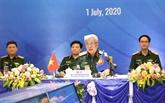 Dialogue des responsables de la défense du Forum régional de l'ASEAN