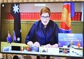 L'ASEAN et l'Australie soulignent leur coopération anticoronavirus