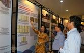 Exposition darchives sur la ville urbaine maritime de Dà Nang