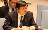 ONU : le Vietnam présente des expériences anti-terroristes de l'ASEAN