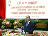 Le Premier ministre assiste à la Journée traditionnelle du secteur de la logistique militaire