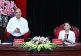 Le Premier ministre Nguyên Xuân Phuc se rend à Ninh Binh