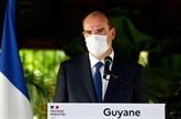 Castex défend l'action de l'État en Guyane et appelle à la