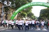 Plus de 30.000 personnes à la Journée olympique des courses à pied